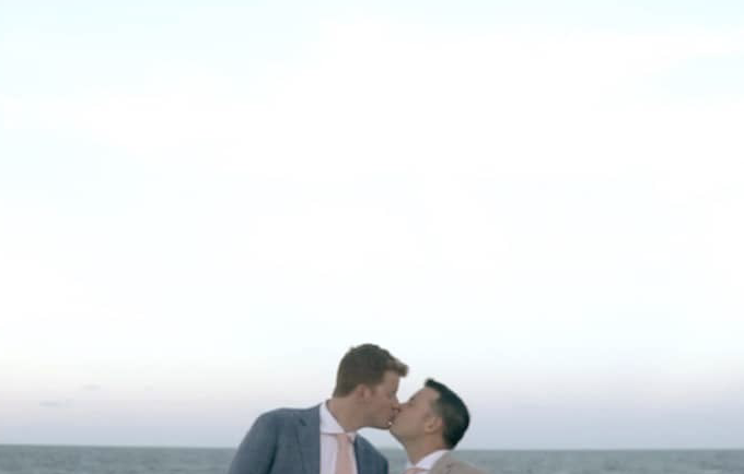 Michael and Kyle's Bethany Beach Wedding in Delaware