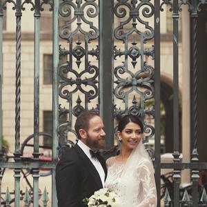 Homaira and Drew's Washington DC Wedding at the Mellon
