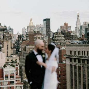 Megan and David's New York City Wedding
